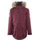 Jack Wolfskin Elk Island 3in1 Jacket Parka Girls garnet red